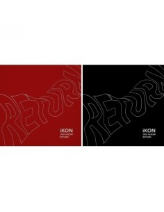 [SET] IKON 2nd Album - Return(Red Ver + Black Ver) CD + Poster