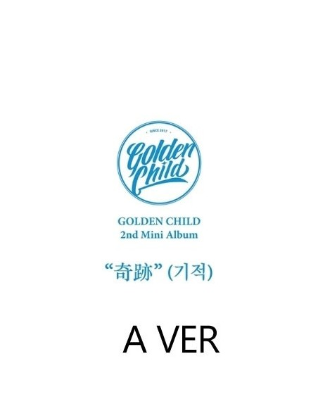 Golden Child 2nd Mini Album - Miracle A Ver CD + POSTER