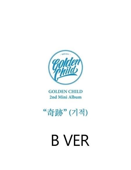 Golden Child 2nd Mini Album - Miracle B Ver