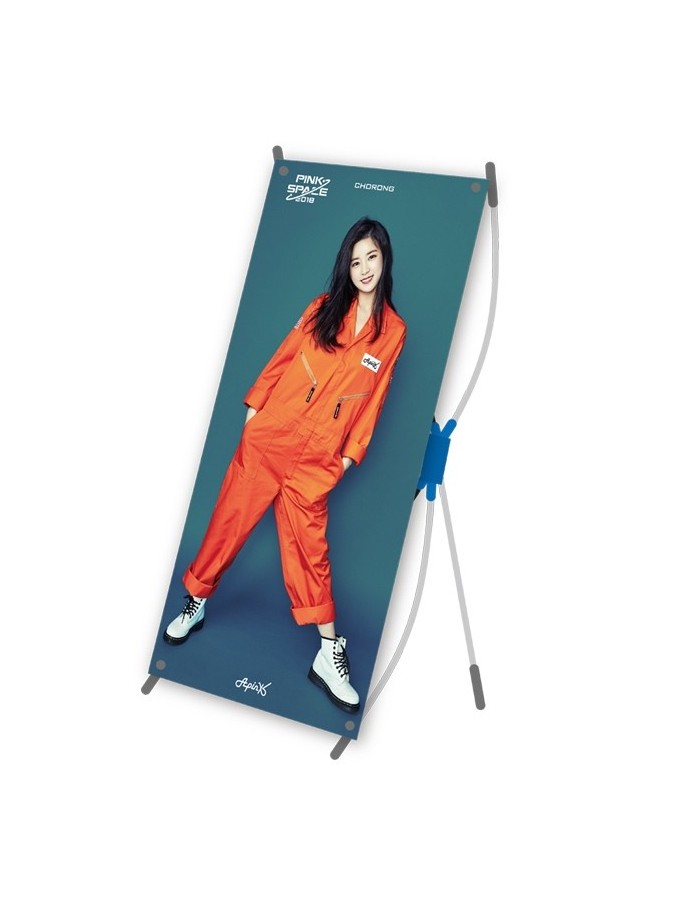 """Apink Mini X Banner - Apink 2018 Concert """"PINK SPACE"""" Goods"""