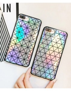 [IH190] Zigzag Hologram Mobile Phone Case
