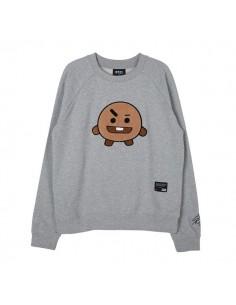 [BT21] SHOOKY Basic Graphic Sweat T-shirt