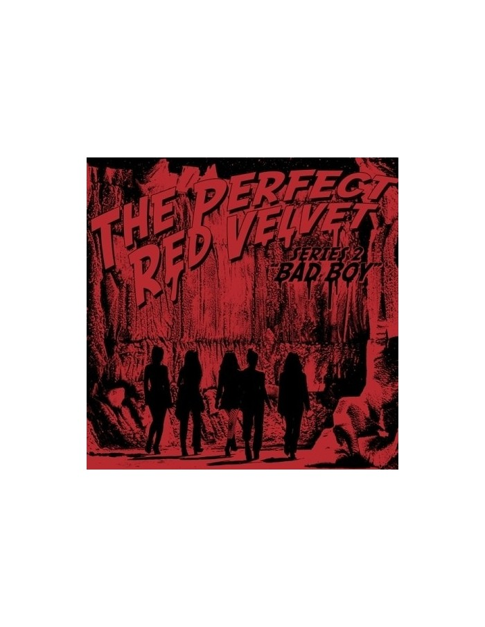 RED VELVET 2nd Repackage Album - THE PERFECT RED VELVET + Poster