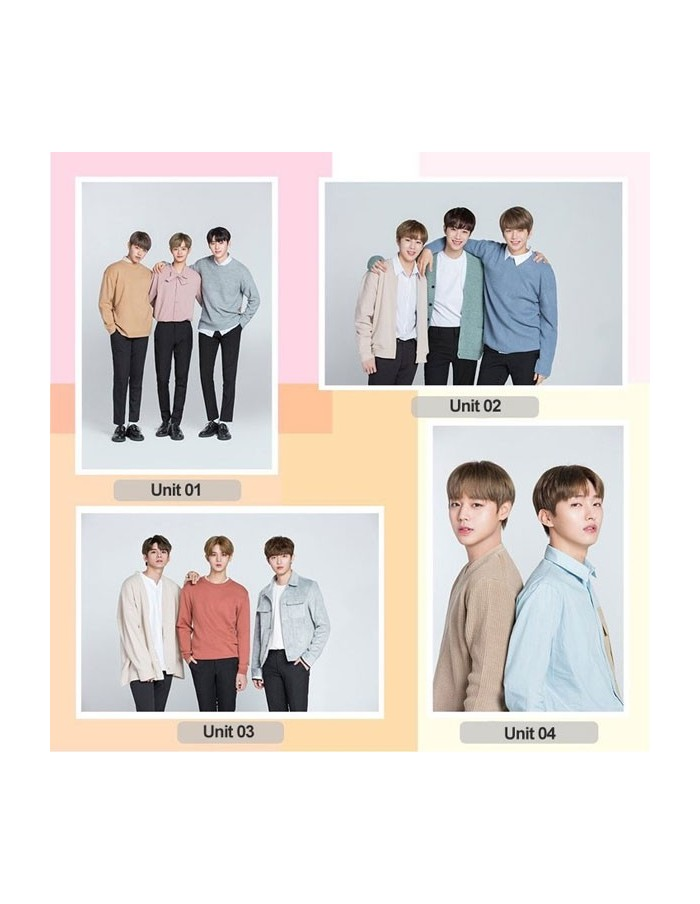 WANNA ONE x Lens Nine - Bromide[Unit] (4Kinds)