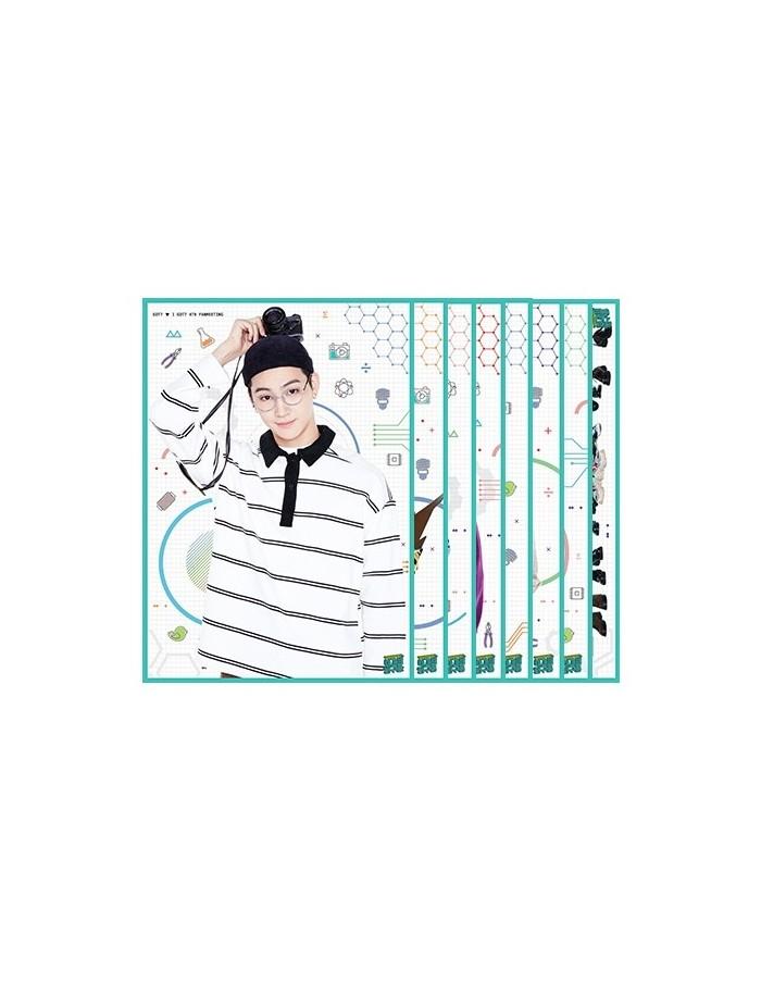 GOT7 4th Fanmeering Official Goods - Bromide Set (7Kinds)