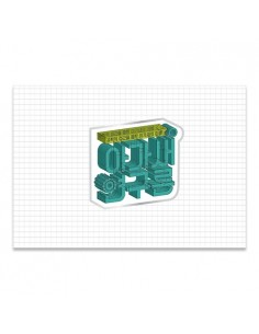 GOT7 4th Fanmeering Official Goods - Logo Badge