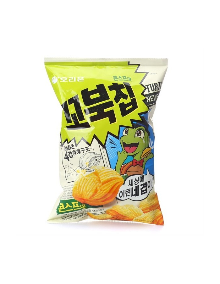 ORION Turtle Chip Snack Corn soup 160g