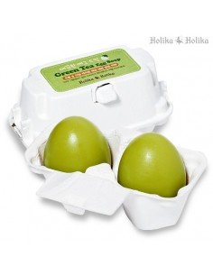 [Holika Holika09] Egg Soap - Green Tea for Dry Skin