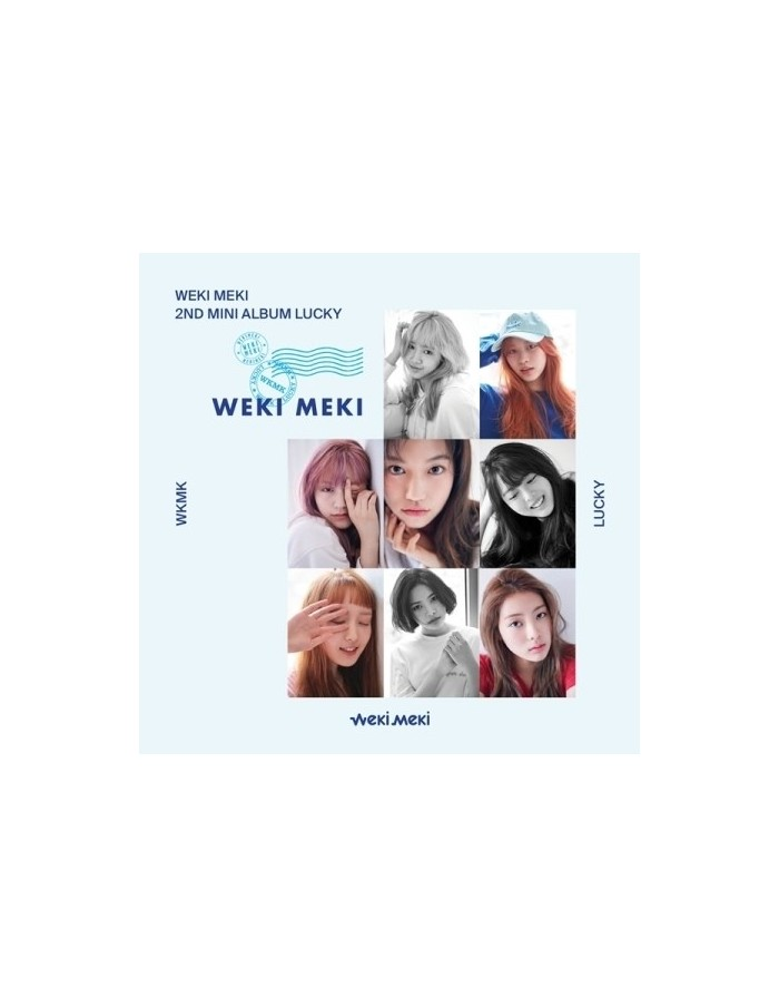 WEKI MEKI 2nd Mini Album - Lucky [Lucky Ver] CD + Poster