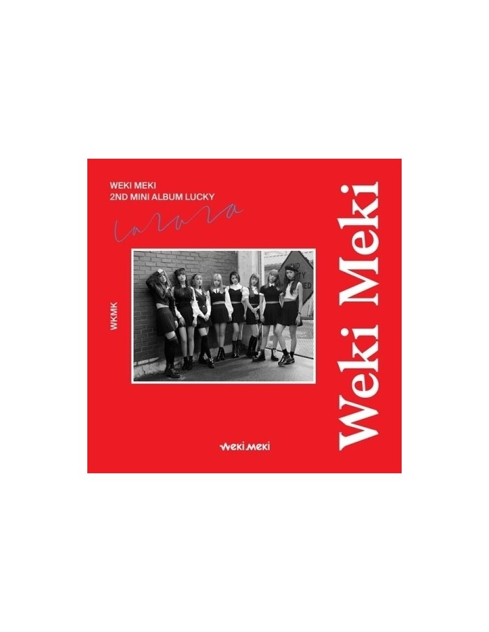 WEKI MEKI 2nd Mini Album - Lucky [Meki Ver] CD + Poster