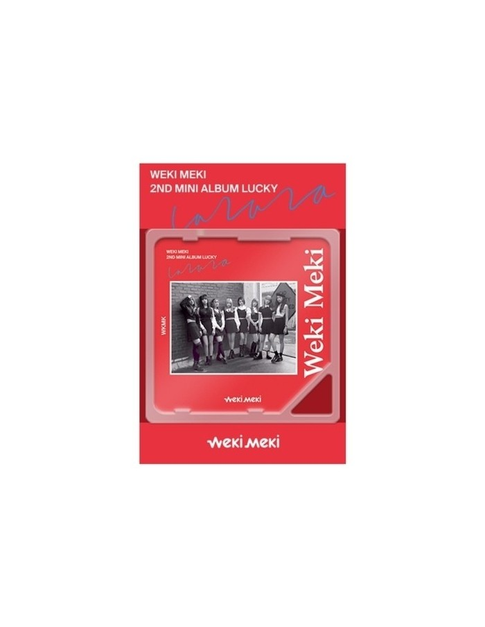 WEKI MEKI 2nd Mini Kino Album - Lucky CD