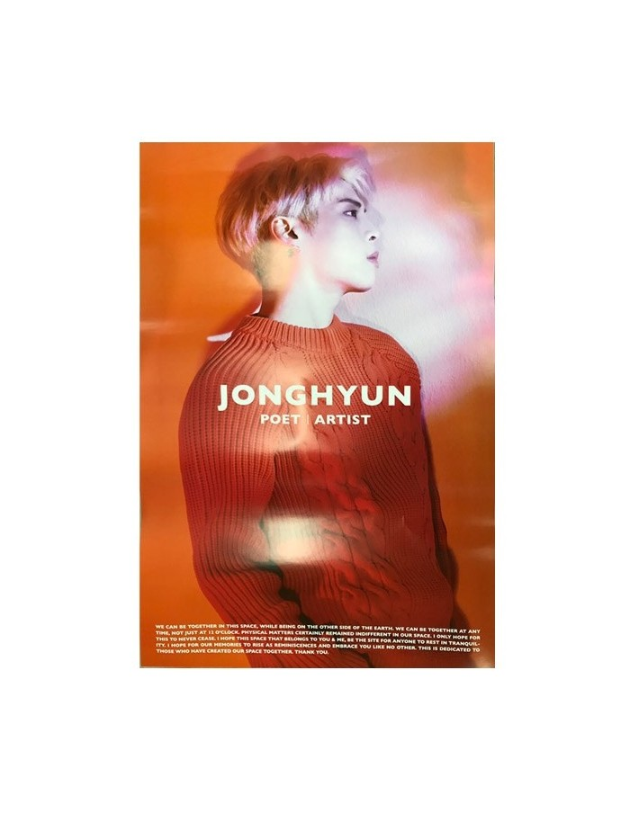 [Poster] SHINEE JONGHYUN - Poet l Artist Official Poster