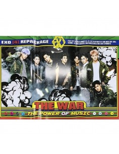 [Poster] EXO The War : The Power Of Music Repackage Poster