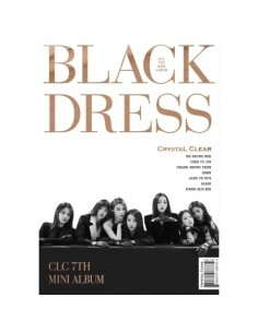 CLC 7th Mini Album - Black Dress CD + Poster