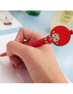 tvN Drama Hwaugi Character Goods - Punch Mong Charater Ball Pen