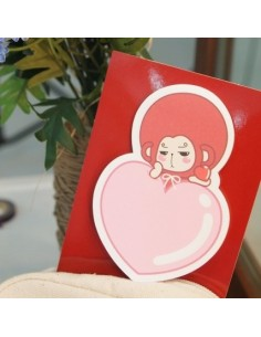 tvN Drama Hwaugi Character Goods - Punch Mong Son Oh Sticky Notes