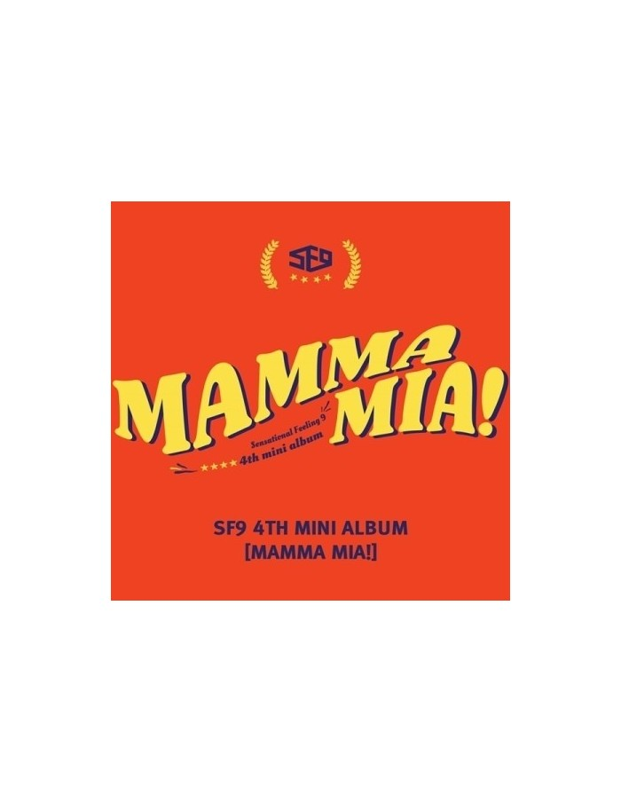SF9 4th Mini Album - Mamma Mia! CD + POSTER