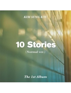 Kim Sung Kyu 1st Album - 10 Stories (Nomal VER) CD + POSTER