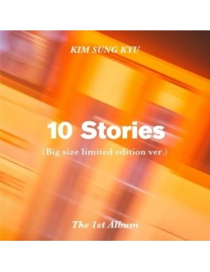 Kim Sung Kyu 1st Album - 10 Stories (Big Size Limited Edition VER) CD + POSTER