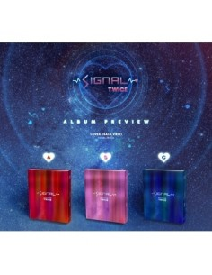 TWICE 4th Mini Album - SIGNAL (B ver) CD + Poster