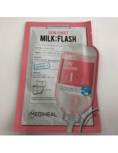 [MEDIHEAL] Mediheal Skin Chart Milk:Flash Mask