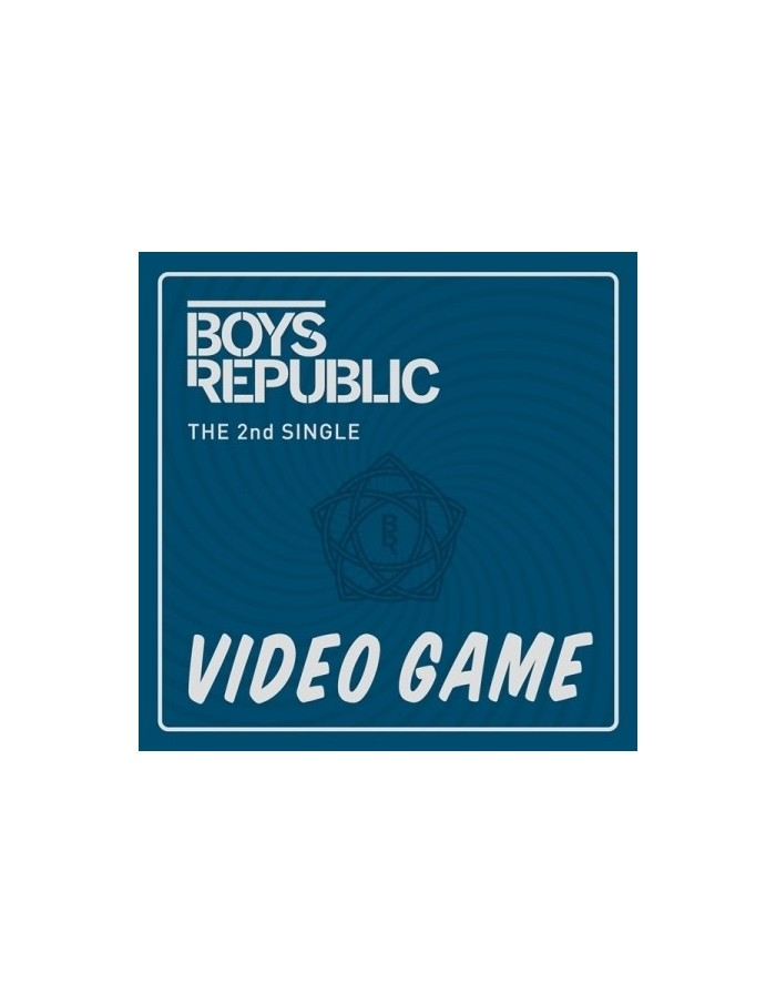 BOYS REPUBLIC 2nd Single Album - Video Game CD