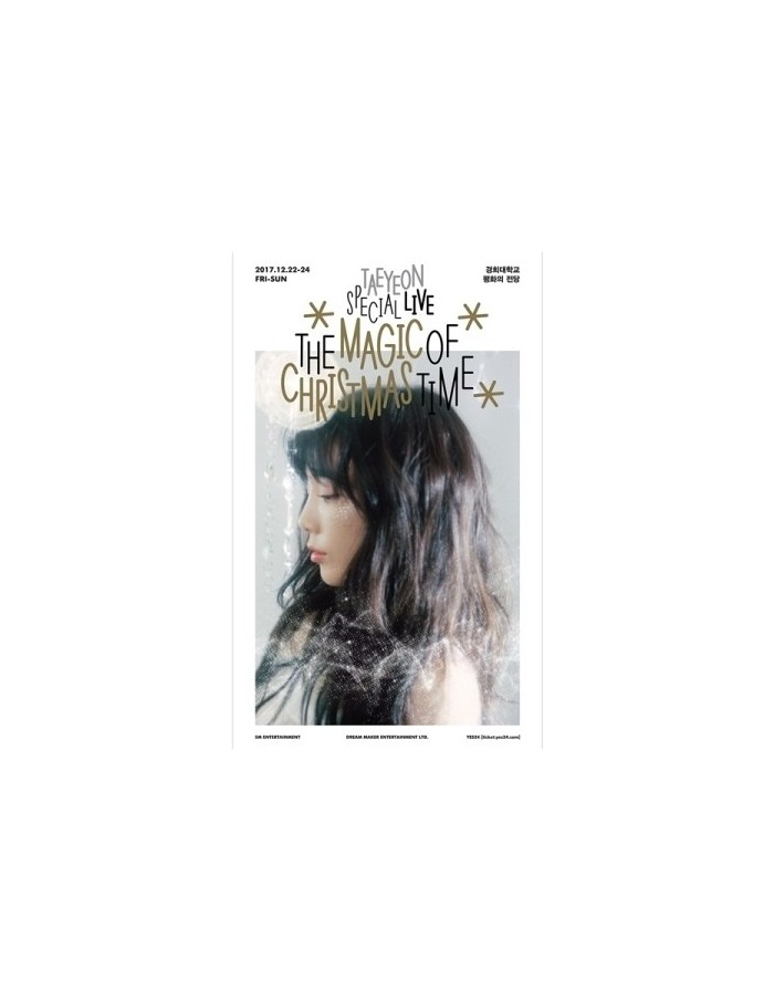 TAEYEON Special Live - The Magic Of Christmas Time 2DVD + Photobook(72p) + MD