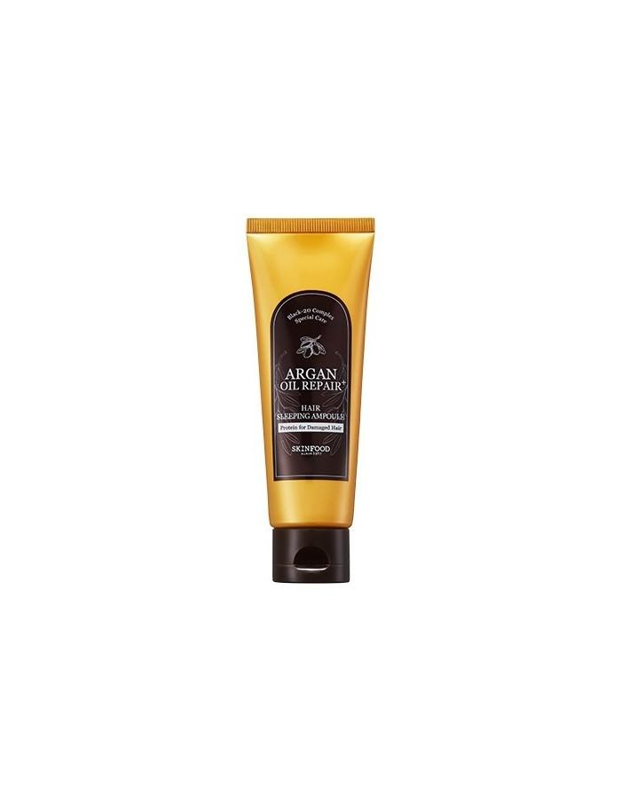 [Skin Food] Argan Oil Repair Plus Hair Sleeping Ampoule 70ml