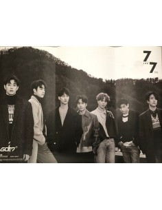 [Poster] GOT7 - 7 FOR 7 PRESENT EDITION POSTER (STARRY HOUR Ver)