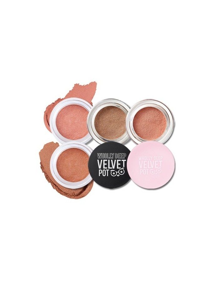 [Peripera] Wholly Deep Velvet Pot 3.5g