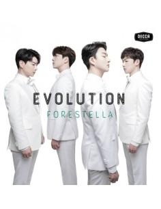 FORESTELLA 1st Debut Album - EVOLUTION CD