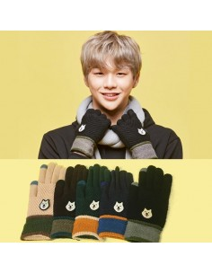 [WANNA ONE] Gang Daniel Glove - Dog Edition