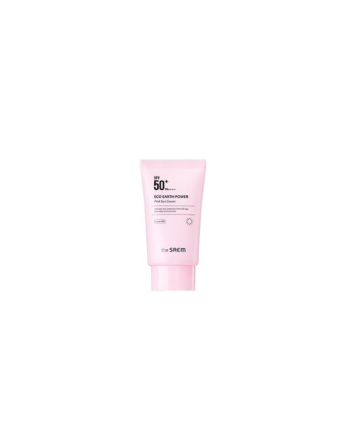 [the SAEM] Eco Earth Power Pink Sun Cream SPF50+ PA++++ 50g