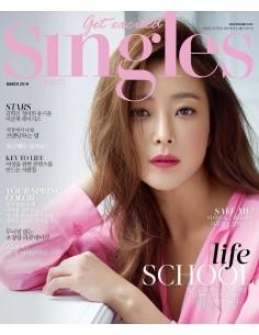 Magazine SINGLES 2018-3 Kim Hee Seon, Day6
