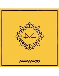 MAMAMOO 6th Mini Album - Yellow Flower CD + Poster [Pre-Oder]