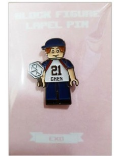 EXO - DIY Block Figure Lapel Pin : CHEN