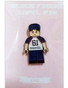 EXO - DIY Block Figure Lapel Pin : Chanyeol