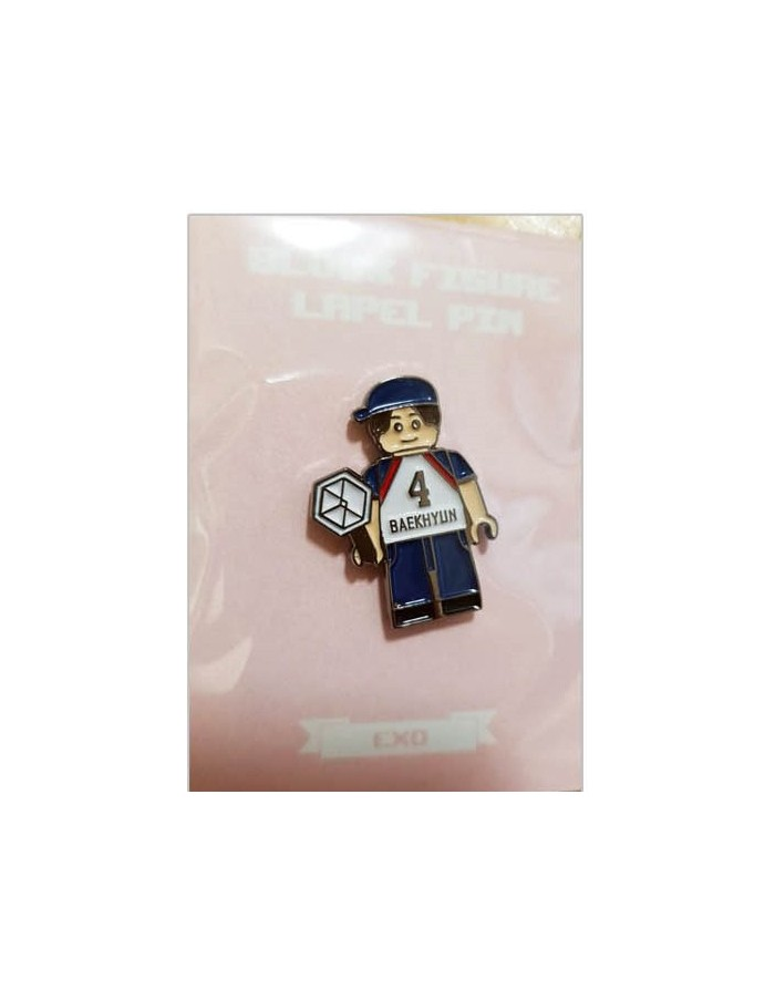 EXO - DIY Block Figure Lapel Pin : BAEKHYUN