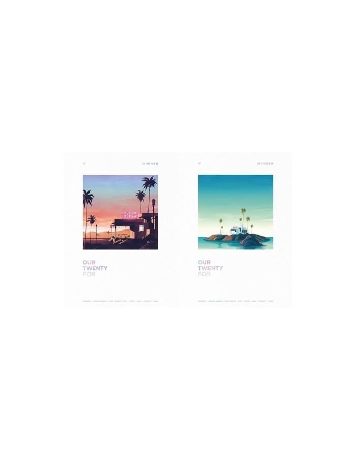 WINNER Single  Album - OUR TWENTY FOR - CD (Random Version)