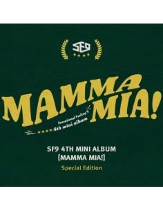 SF9 4th Mini Album - Mamma Mia! Special Edition CD + POSTER