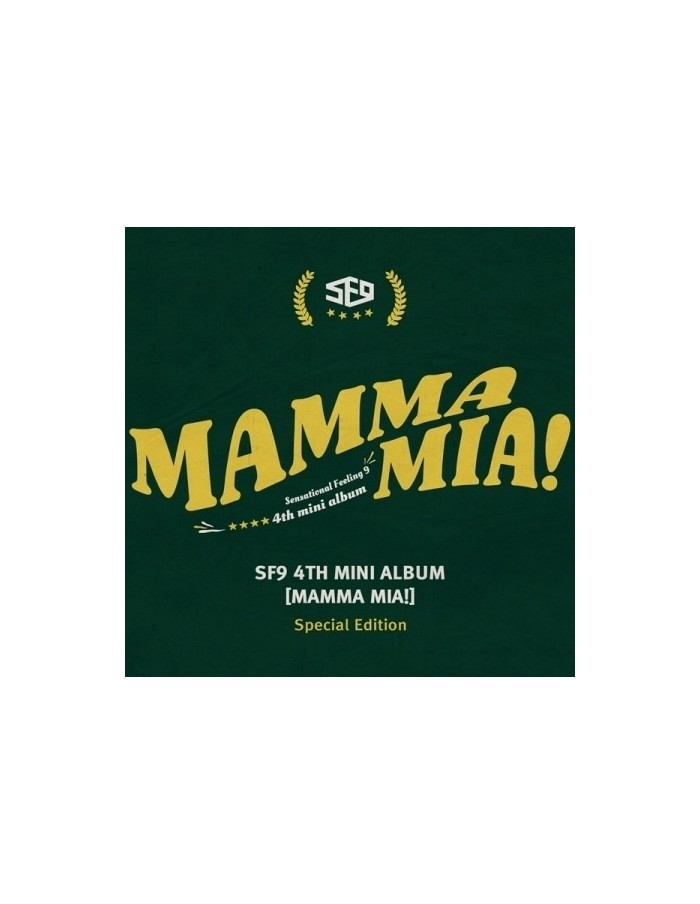 SF9 4th Mini Album - Mamma Mia! Special Edition CD + POSTER