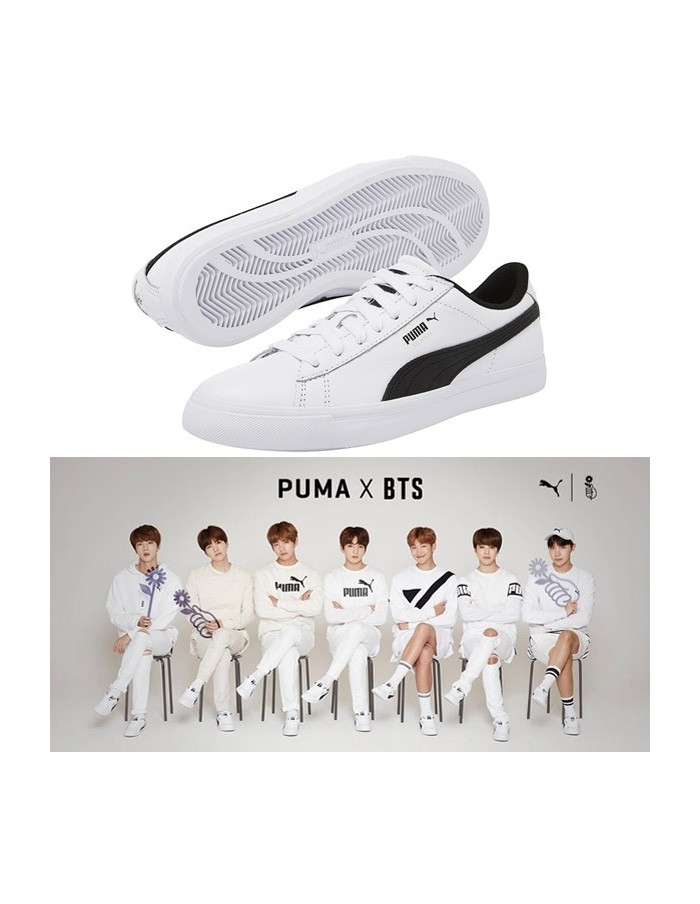 BTS x PUMA Court Star Shoes