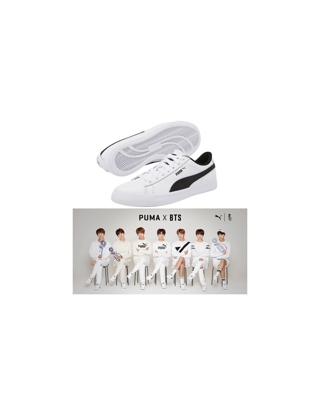8295c148b915 BTS x PUMA Court Star Shoes