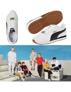 BTS x PUMA Turin Shoes