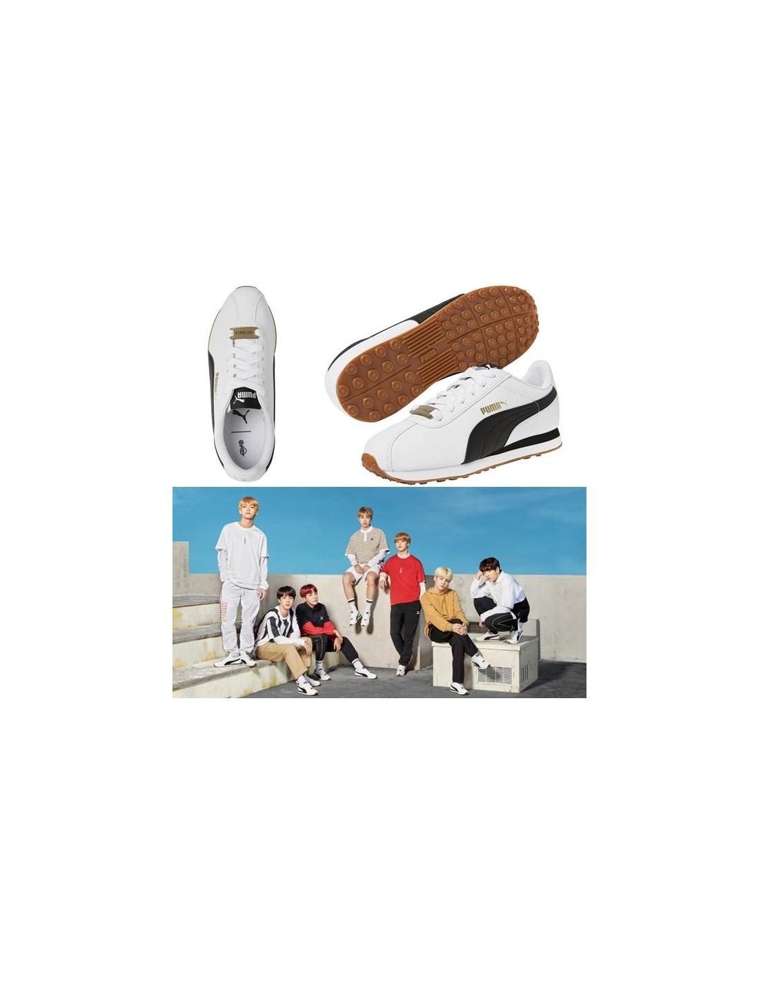 BTS x PUMA Turin Shoes 3e700f04e