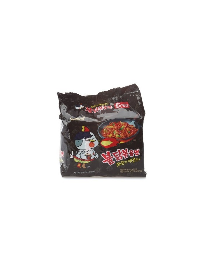 SAMYANG Fire Hot Chicken Flavor Ramen 140g x 5EA