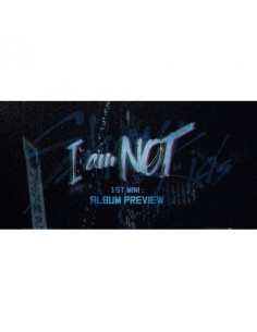 STRAY KIDS 1st Mini Album - I am Not CD + Poster (Random Version)