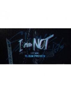 STRAY KIDS 1st Mini Album - I am Not CD + Poster (Random Version)