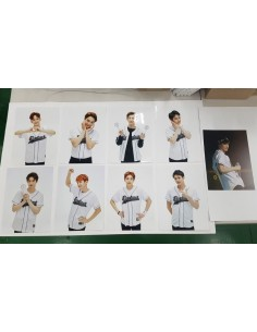 EXO Baseball Jacket Photo (9Kinds)