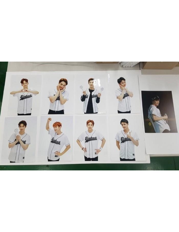 EXO Baseball Jacket Photo (9Kinds)